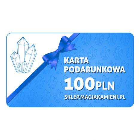 KARTA PODARUNKOWA O WARTOŚCI 100 ZŁOTYCH