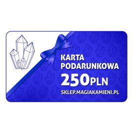 KARTA PODARUNKOWA O WARTOŚCI 250 ZŁOTYCH