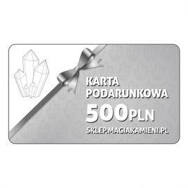 KARTA PODARUNKOWA O WARTOŚCI 500 ZŁOTYCH