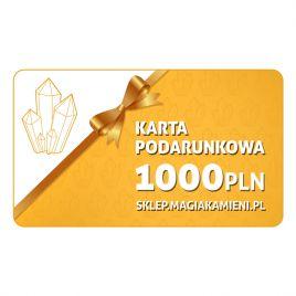 KARTA PODARUNKOWA O WARTOŚCI 1000 ZŁOTYCH