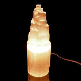 SELENIT - KAMIEŃ KSIĘŻYCOWY - LAMPA 234 mm