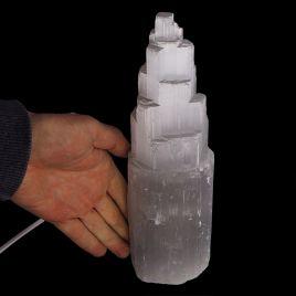 SELENIT - KAMIEŃ KSIĘŻYCOWY - LAMPA 243 mm