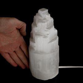 SELENIT - KAMIEŃ KSIĘŻYCOWY - LAMPA 183 mm