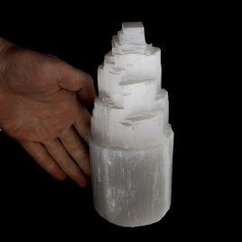 SELENIT - KAMIEŃ KSIĘŻYCOWY - LAMPA 186 mm
