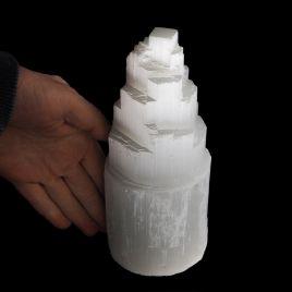 SELENIT - KAMIEŃ KSIĘŻYCOWY - LAMPA 185 mm