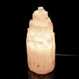 SELENIT - KAMIEŃ KSIĘŻYCOWY - LAMPA