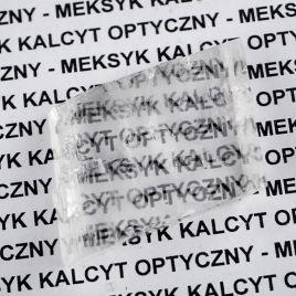 KALCYT OPTYCZNY - SZPAT ISLANDZKI - KRYSZTAŁ 39 mm - MEKSYK