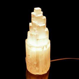 SELENIT - KAMIEŃ KSIĘŻYCOWY - LAMPA 240 mm