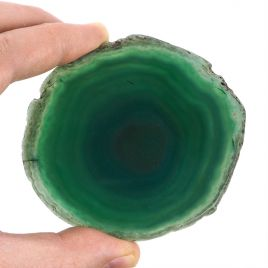 AGAT ZIELONY - PLASTER 86 mm - BRAZYLIA