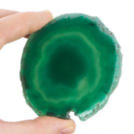 AGAT ZIELONY - PLASTER 85 mm - BRAZYLIA
