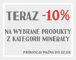 Minerały - promocja